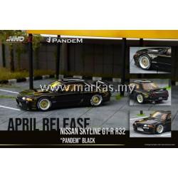 (PO) INNO MODELS INNO64 1/64 NISSAN SKYLINE GT-R R32 PANDEM BLACK