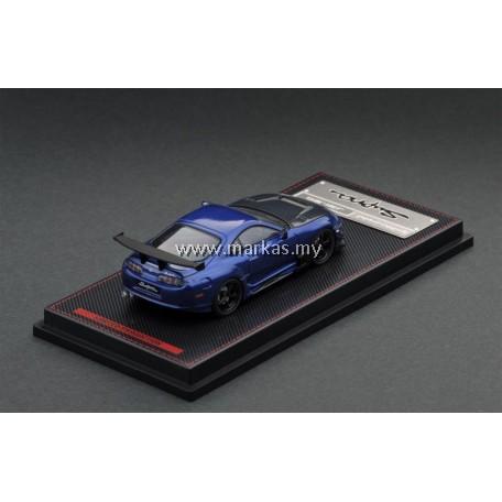 IGNITION MODEL 1/64 TOYOTA SUPRA (JZA80) BLUE METALLIC