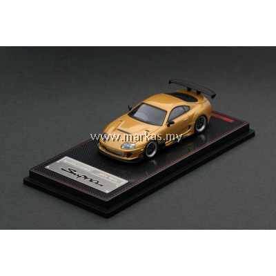 IGNITION MODEL 1/64 TOYOTA SUPRA (JZA80) GOLD