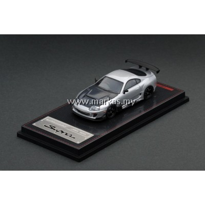 IGNITION MODEL 1/64 TOYOTA SUPRA (JZA80) SILVER