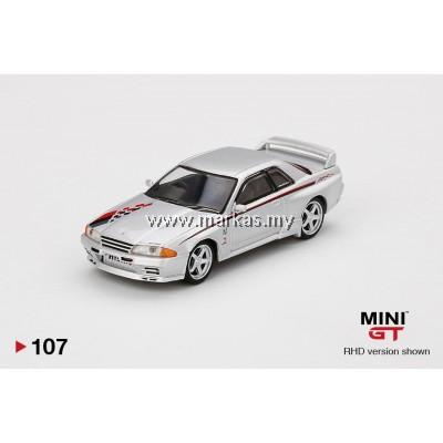 (PO) MINI GT 1/64 #107 NISSAN GT-R R32 NISMO S-TUNE