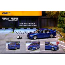 INNO MODELS INNO64 1/64 TOYOTA ALTEZZA RS200 BLUE *JAPAN SPECIAL EDITION
