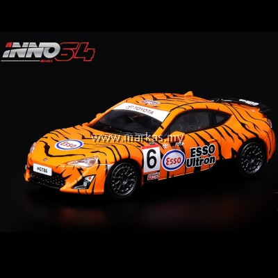 "INNO MODELS INNO64 1/64 TOYOYA GT86 #6 ""ESSO ULTRON TIGER"" GOODWOOD FESTIVAL OF SPEED 2015"