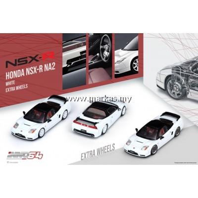 (PO) INNO MODELS INNO64 1/64 HONDA NSX-R NA2 WHITE EXTRA WHEELS