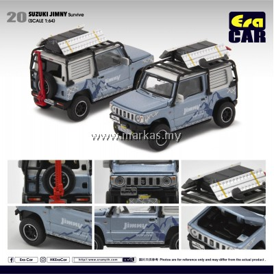 (PO) ERA CAR 1/64 SUZUKI JIMNY SURVIVE