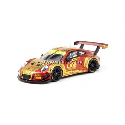 TARMAC WORKS 1/64 PORSCHE 911 GT3 R MACAU GT CUP #912