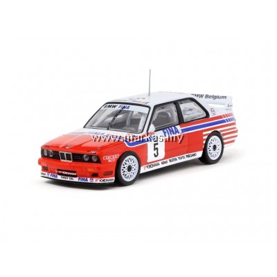 TARMAC WORKS 1/64 BMW M3 E30 SPA 24HOURS RACE 1992 WINNER (DECAL INCLUDED)