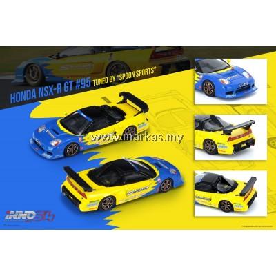 (PO) INNO MODELS INNO64 1/64 HONDA NSX-R GT #95 TUNED BY SPOON SPORTS