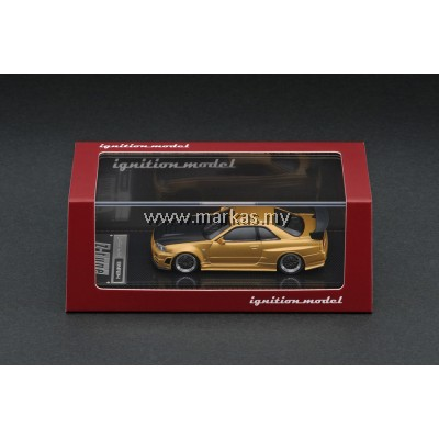 IGNITION MODEL 1/64 NISMO R34 GT-R Z-TUNE GOLD *MACAU GP 2019 SPECIAL*
