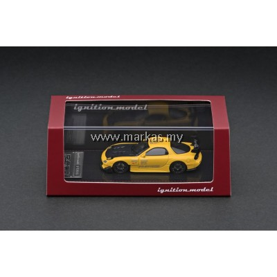 (PO) IGNITION MODEL 1/64 MAZDA RX-7 (FD3S) RE AMEMIYA YELLOW