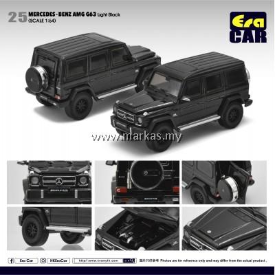 (PO) ERA CAR 1/64 #25 MERCEDES-BENZ AMG G63 LIGHT BLACK