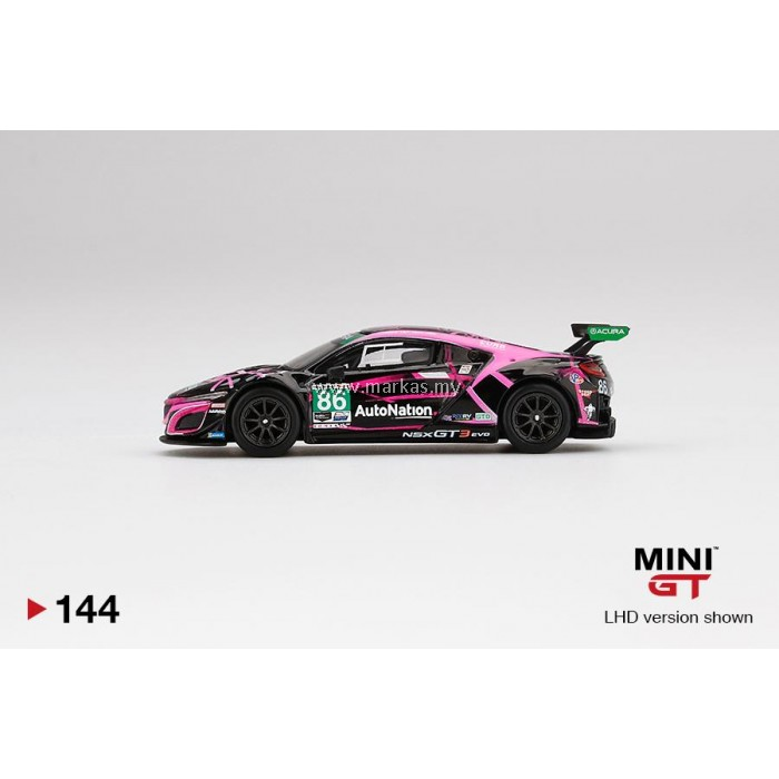 (PO) MINI GT 1/64 #144 ACURA NSX GT3 EVO #86 2019 IMSA