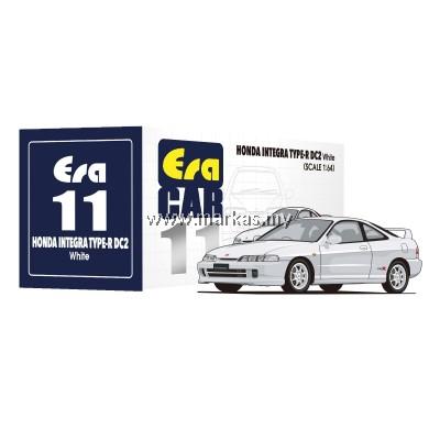 (PO) ERA CAR 1/64 #11 HONDA INTEGRA TYPE R DC2 WHITE