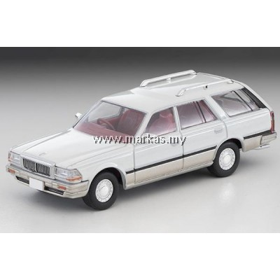 (PO) TOMICA LIMITED VINTAGE NEO LV-N209A NISSAN CEDRIC WAGON SGL LIMITED WHITE/SILVER
