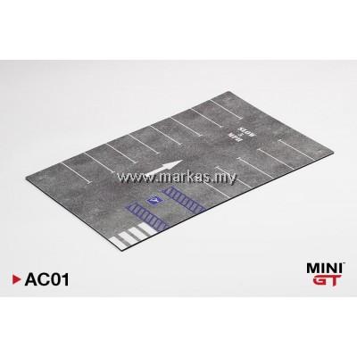 (PO) MINI GT 1/64 AC01 PARKING LOT PAD TYPE A