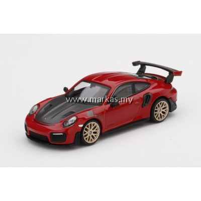 (PO) MINI GT 1/64 #160 PORSCHE 911 (991) GT2 RS GUARDS RED LHD TAIWAN EXCLUSIVE