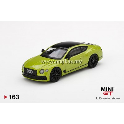 (PO) MINI GT 1/64 #163 BENTLEY CONTINENTAL GT LIMITED EDITION PIKES PEAK