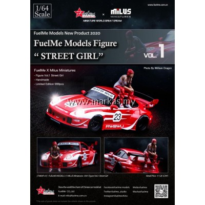 (PO) FUELME 1/64 MODEL FIGURE STREET GIRL VOL.1