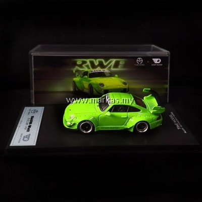 (PO) TIME MODEL X GHOST PLAYER 1/64 RWB 993 LIME GREEN
