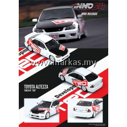 (PO) INNO MODELS INNO64 1/64 TOYOTA ALTEZZA TUNED BY TRD RACING DEVELOPMENT
