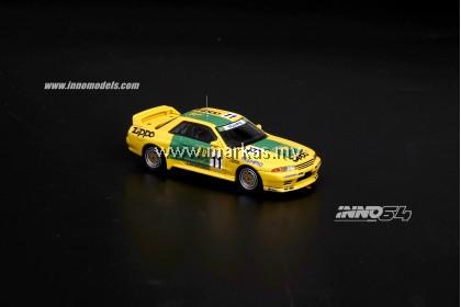 (PO) INNO MODELS INNO64 1/64 NISSAN SKYLINE GT-R R32 #11 BP OIL TRAMPIO INTER TEC FUJI 1993 WINNER