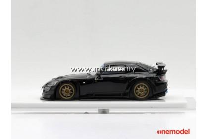 ONE MODEL 1/64 HONDA SPOON S2000 STREET VERSION (BLACK)