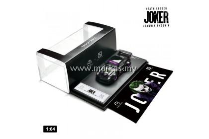 TIME MODEL X SOMODEL 1/64 RWB 993 HEATH LEDGER JOKER JOAQUIN PHOENIX