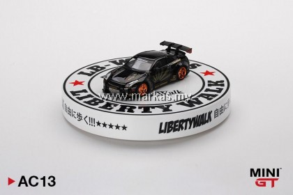 (PO) MINI GT 1/64 AC13 DISPLAY TURNTABLE LIBERTY WALK TYPE A *DIECAST CAR NOT INCLUDED
