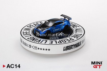 (PO) MINI GT 1/64 AC13 DISPLAY TURNTABLE LIBERTY WALK TYPE B *DIECAST CAR NOT INCLUDED