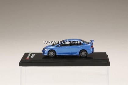 (PO) HOBBY JAPAN 1/64 HONDA MUGEN CIVIC TYPE R (FD2) VIVID BLUE PEARL