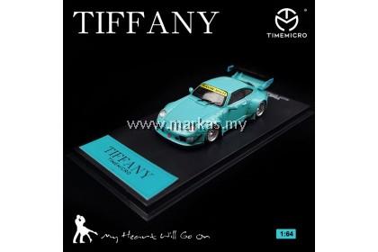 (PO) TIME MICRO 1/64 PORSCHE RAUH-WELT RWB 993 TIFFANY BLUE