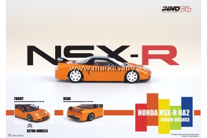 INNO MODELS INNO64 1/64 HONDA NSX-R NA2 ORANGE