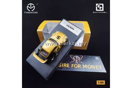 (PO) TIME MICRO X SOMODEL 1/64 PORSCHE RAUH-WELT RWB 993 DESIRE FOR MONEY