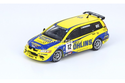 (PO) INNO MODELS INNO64 1/64 MITSUBISHI LANCER EVOLUTION IX WAGON #12 OHLINS SUPER TAIKYU SERIES 2006 13TH TOKACHI 24HOURS RACE