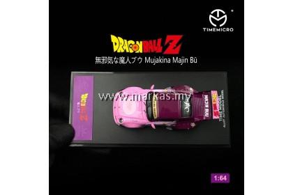 TIME MICRO 1/64 PORSCHE RWB 993 DRAGONBALL Z MAJIN BU