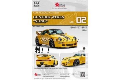 FUELME MODELS 1/64 GUNTHER WERKS 993 STING VOL.02