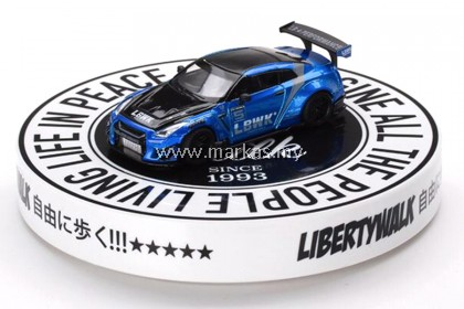 MINI GT 1/64 AC14 DISPLAY TURNTABLE LIBERTY WALK TYPE B *DIECAST CAR NOT INCLUDED