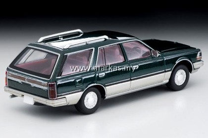 TOMICA LIMITED VINTAGE LV-N209B NISSAN CEDRIC WAGON SGL LIMITED GREEN/SILVER