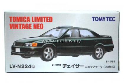 TOMICA LIMITED VINTAGE NEO LV-N224B TOYOTA CHASER 2.5 TOURER V BLACK