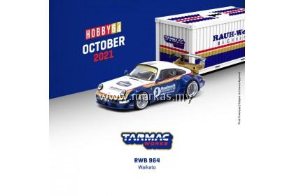 (PO) TARMAC WORKS HOBBY64 1/64 RWB 964 WAIKATO