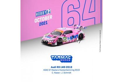 (PO) TARMAC WORKS HOBBY64 1/64 AUDI R8 LMS 2019 ADAC GT MASTER HOCKENHEIMRING 2019