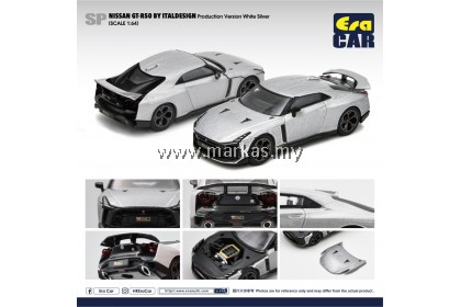 (PO) ERA CAR 1/64 #SP NISSAN GT-R50 BY ITALDESIGN PRODUCTION VERSION WHITE SILVER
