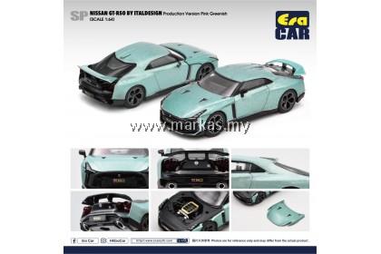 (PO) ERA CAR 1/64 #SP NISSAN GT-R50 BY ITALDESIGN PRODUCTION VERSION PINK GREENISH
