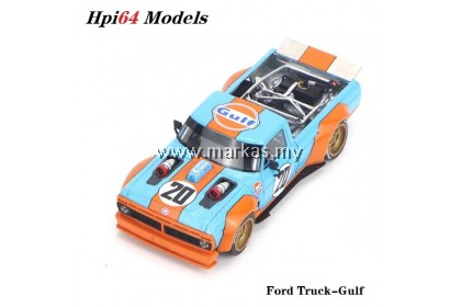 (PO) HPI64 MODELS 1/64 FORD TRUCK GULF PICKUP