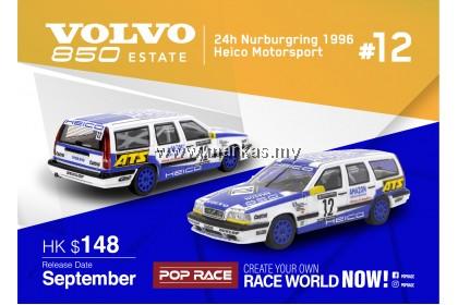 (PO) POP RACE 1/64 VOLVO 850 24H NURBURGRING 1996 HEICO MOTORSPORT #12