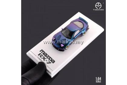TIME MICRO 1/64 MAZDA RX7 ROCKET BUNNY CHAMELEON