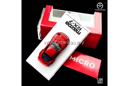 TIME MICRO 1/64 MAZDA RX7 RED METALLIC