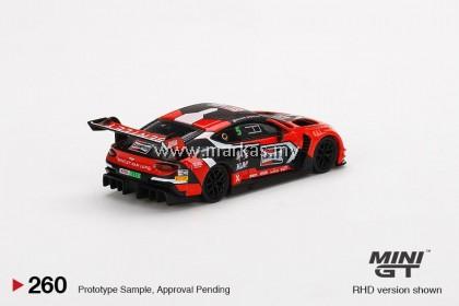 (PO) MINI GT 1/64 #260 BENTLEY CONTINENTAL GT3 #7 2020 LIQUI-MOLY BATHURST 12 HRS WINNER