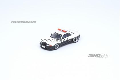 INNO MODELS INNO64 1/64 NISSAN SKYLINE GT-R R32 PANDEM ROCKET BUNNY JAPAN POLICE LIVERY DRIFT CAR