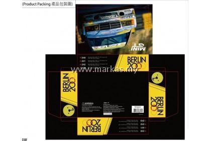 MINI GT HONG KONG EXCLUSIVE SET 1/64 #240 #241 #242 #243 MERCEDES-BENZ 190E BERLIN 2000